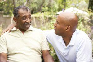 bigstock Senior Man Having Serious Conv 13907540 1