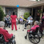 Pipestone Place Memory Care Courtyard Activities